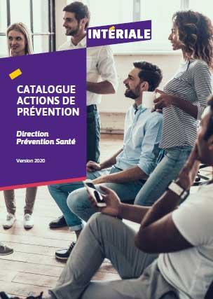 Catalogue des actions de Prévention