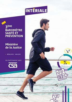 Baromètre Santé Prévention - Ministère de la Justice