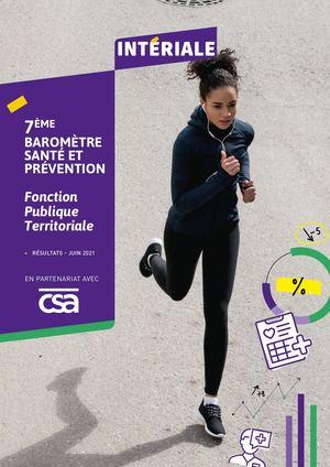 Baromètre Santé Prévention - Fonction publique territoriale