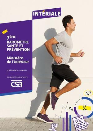 Baromètre Santé Prévention - Ministère de l'Intérieur